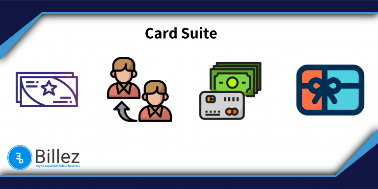 Card Suite – Prepaid, Referral, Cash back, Gift cards