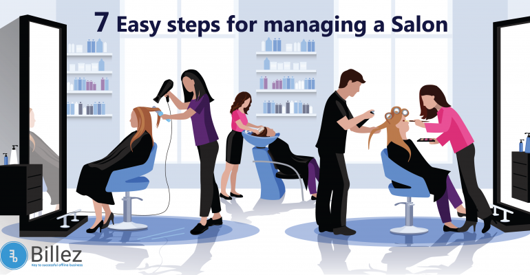7 easy steps for managing a salon